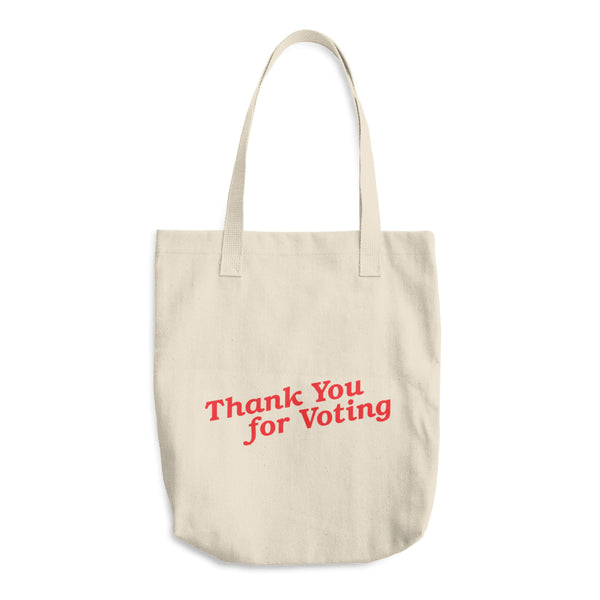 Tote -- Thank you for voting
