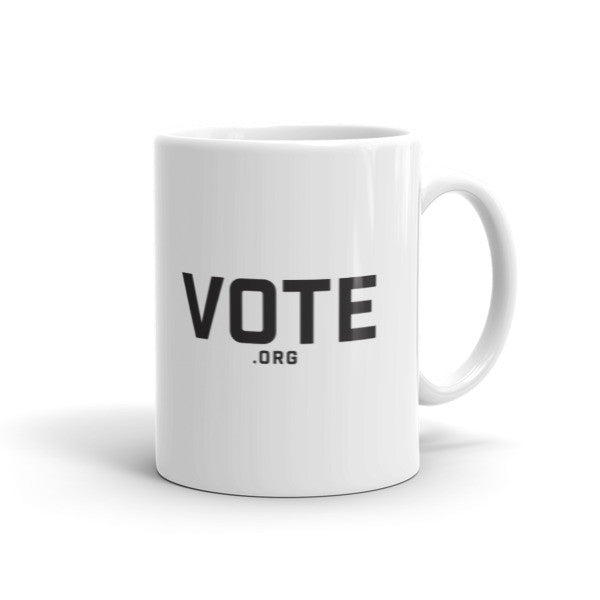 Vote.org 11 ounce mug