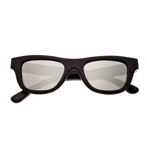 Earth Wood Westport Sunglasses w/ Polarized Lenses - Espresso/Silver