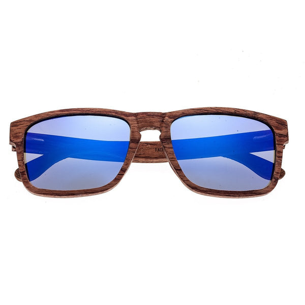 Earth Wood Whitehaven Sunglasses w/Polarized Lenses - Red-Rosewood/Purple