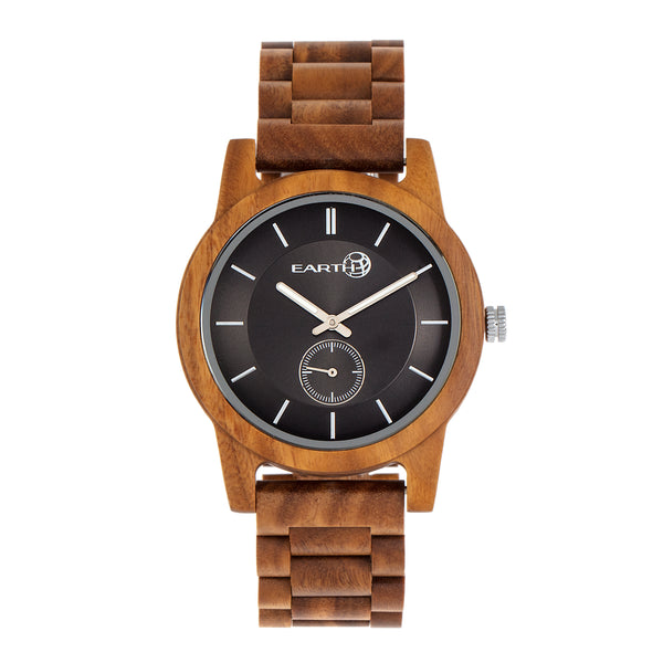 Earth Wood Blue Ridge Bracelet Watch - Olive