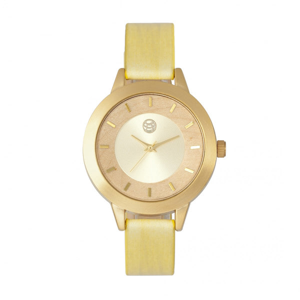 Earth Wood Autumn Watch - Gold/Yellow
