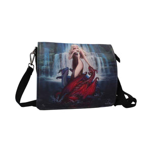 Dragon Bather Canvas Shoulder Bag