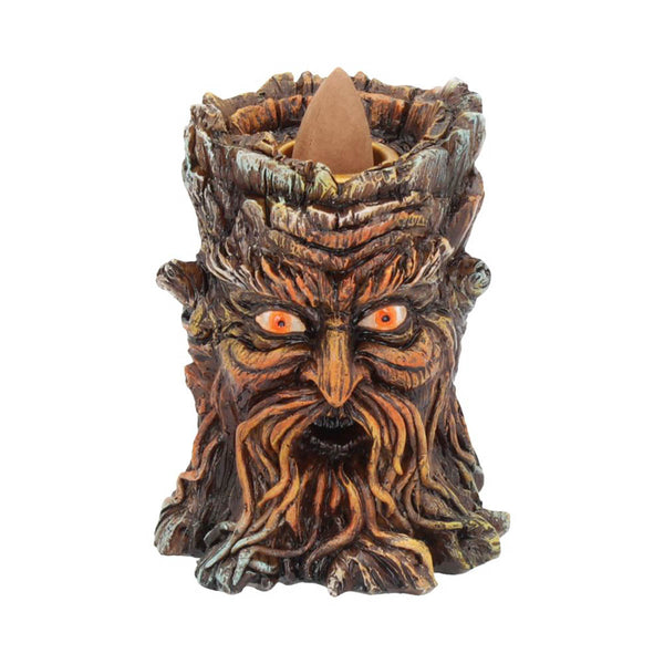 Aged Oak Backflow Incense Burner