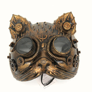 Kinetic kitten mask