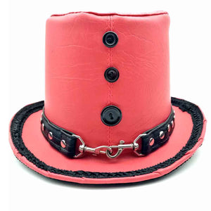Steampunk Hat Red