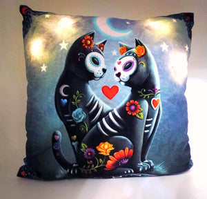 Starry Night Light Up Cushion