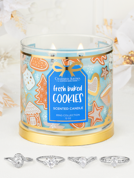 Fresh Baked Cookies Candle - Ring Collection