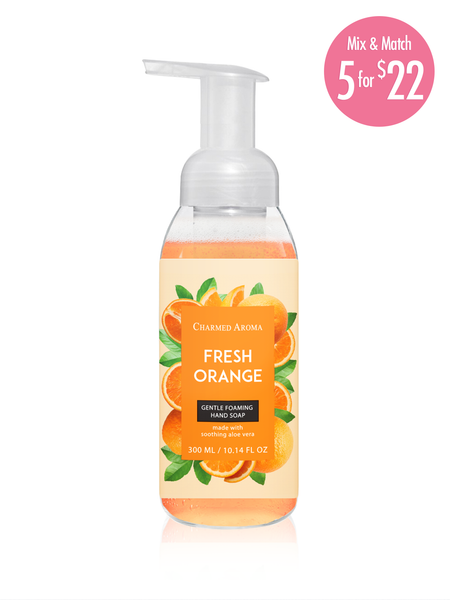 Fresh Orange - Gentle Foaming Hand Soap