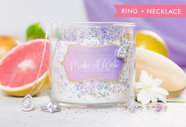 MAKE-A-WISH ® CANDLE – RING + NECKLACE COLLECTION