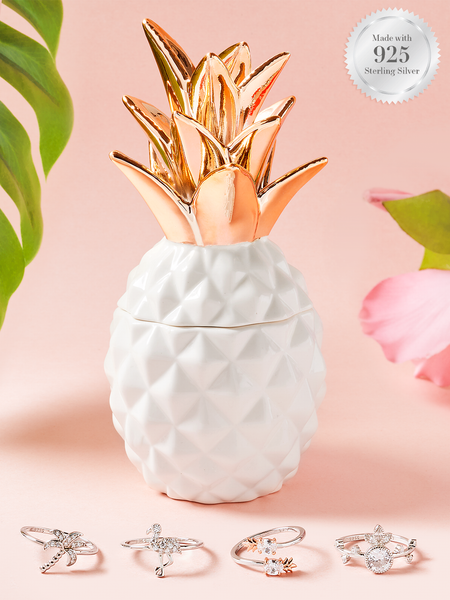 Pineapple Candle - Tropical Ring Collection