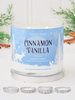 Cinnamon Vanilla Candle - Stackable Ring Collection