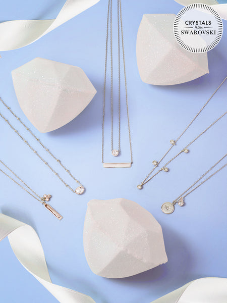 Diamond Birthstone Bath Bomb - Necklace Collection Made With Crystals From Swarovski®