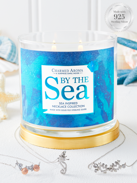 By the Sea Candle - Sea-Inspired Necklace Collection