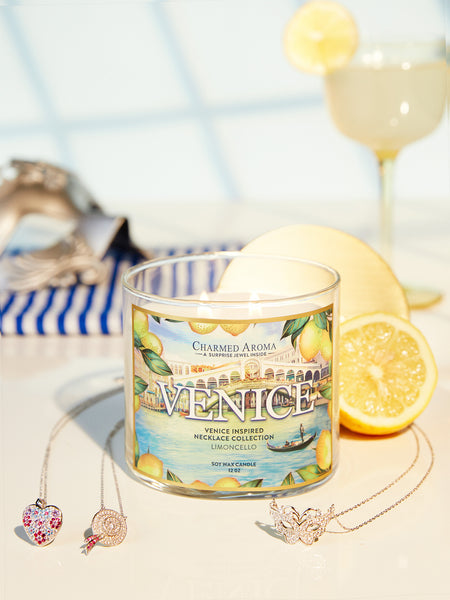 Venice Candle - Venice Necklace Collection