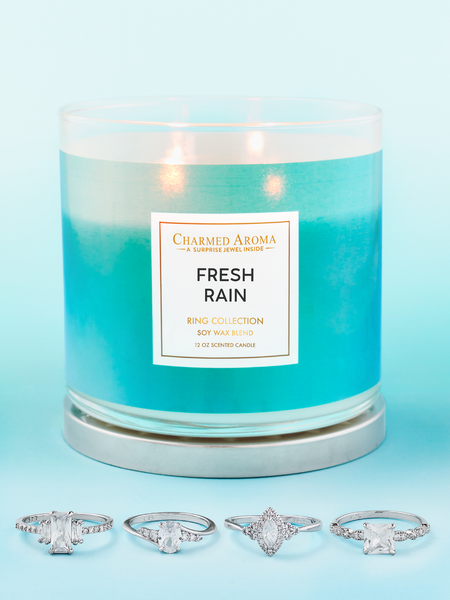 Fresh Rain Candle - Ring Collection