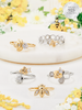 Bee My Honey Candle - 925 Sterling Silver Bee Ring Collection