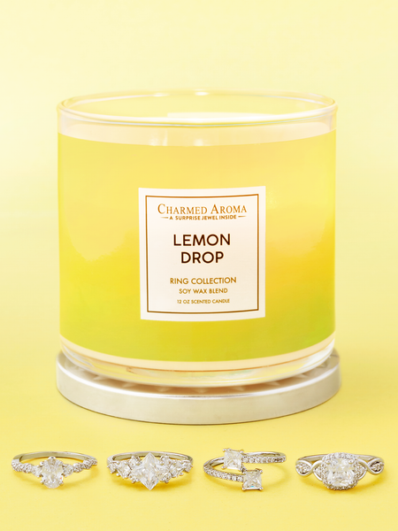 Lemon Drop Candle - Ring Collection