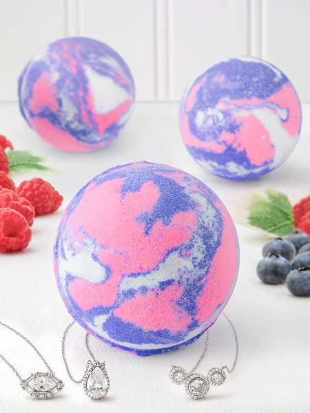 Wild Berry Bath Bomb - Necklace Collection