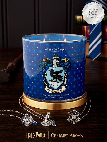 Harry Potter Ravenclaw Pride Candle - 925 Sterling Silver Ravenclaw Necklace Collection