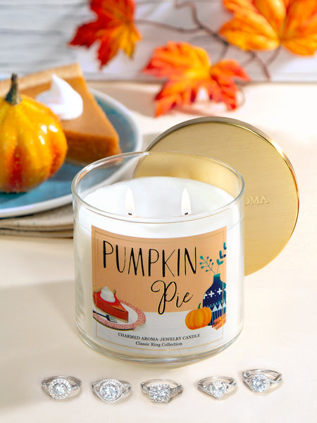 Pumpkin Pie Candle - Classic Ring Collection