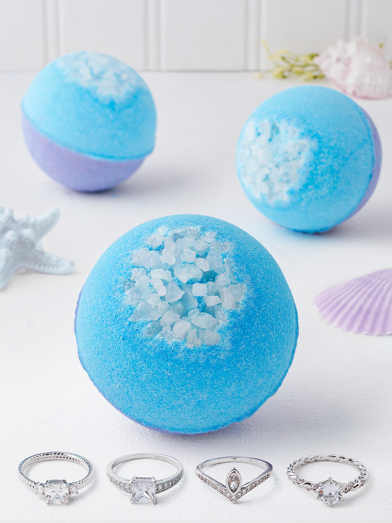 Mermaid Dreams Bath Bomb - Ring Collection
