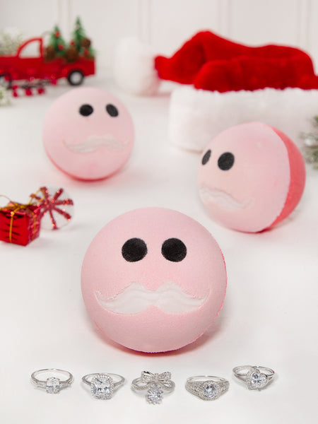 Santa Bath Bomb - Classic Ring Collection