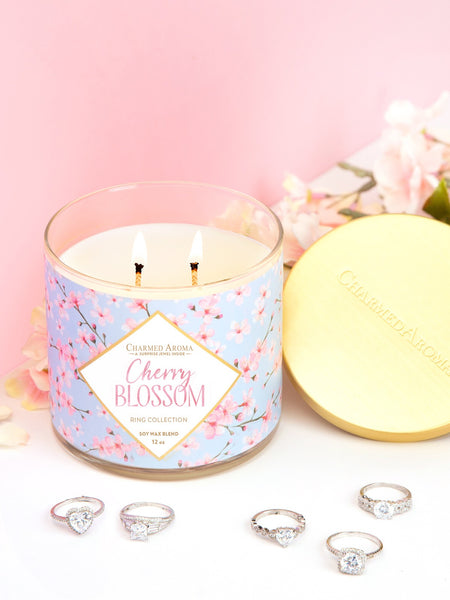 Cherry Blossom Candle - Classic Ring Collection