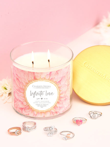 Infinite Love Candle - Love Inspired Ring Collection