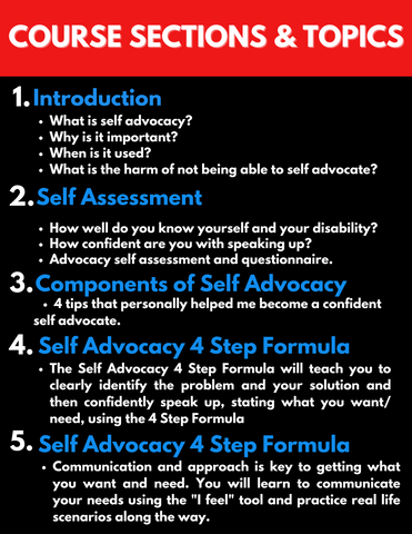 self-advocacy-speakup-speakout-course