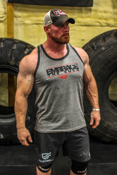 .Embrace the Suck Tri Charcoal / Tri Gray Tank