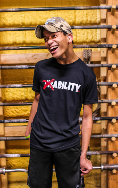 disABILITY T-Shirt - Black
