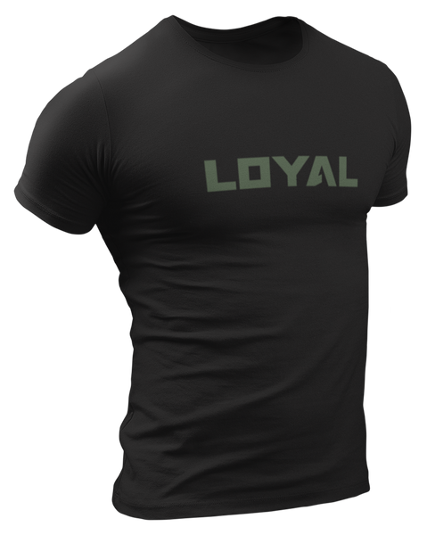 Loyal Military Olive Logo T-Shirt