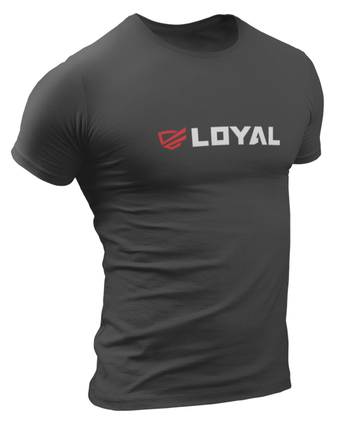 Loyal Red/Wht Logo T-Shirt