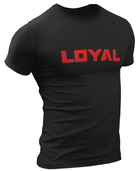 Loyal Red Logo T-Shirt