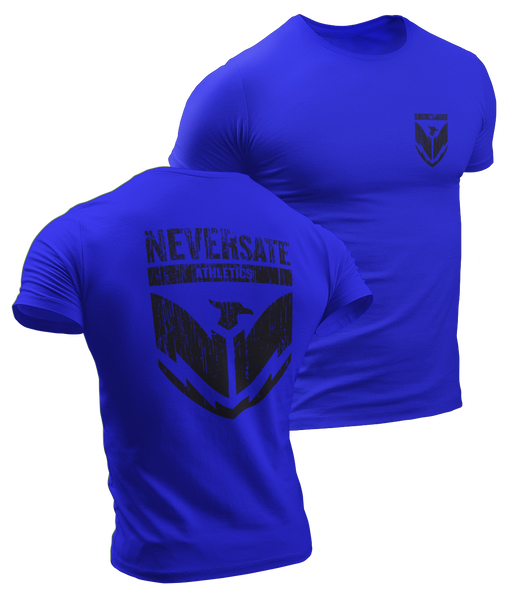 NEVERsate Shield T-Shirt