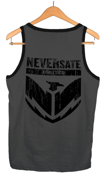 Neversate Shield Military Green Tank the loyal brand theloyalbrand