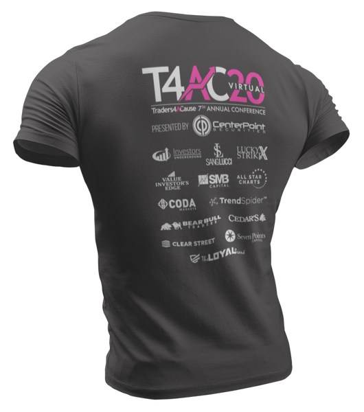 Traders4ACause 2020 Virtual Conference T-Shirt