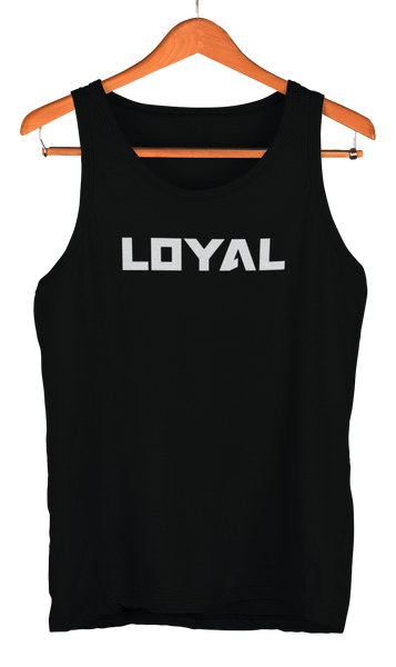 white Loyal Logo Tank theloyalbrand