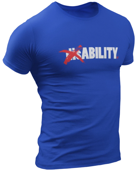 disABILITY T-Shirt - Royal Blue