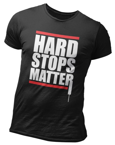 Hard Stops Matter Candle | Day Trading, Stock Market Tee