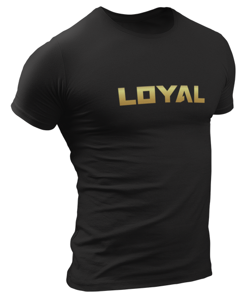 Loyal Logo | Black 'n' Gold
