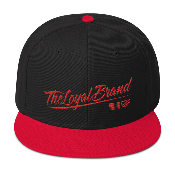The Loyal Brand Script | Red/Black Hat
