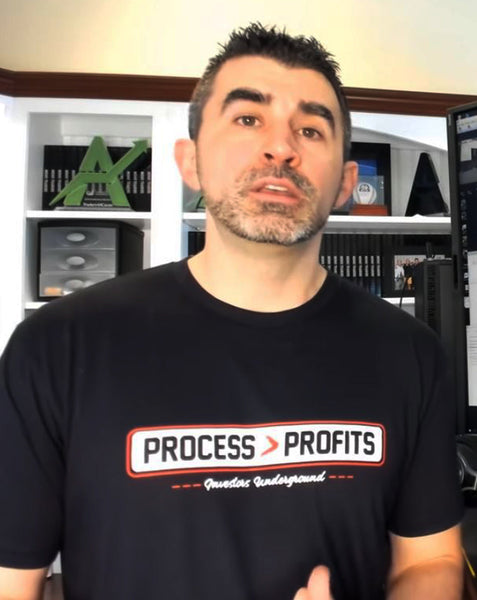 Process Over Profits T-Shirt | Investors Underground