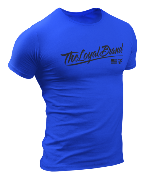 Loyal Scrip T-Shirt - Royal