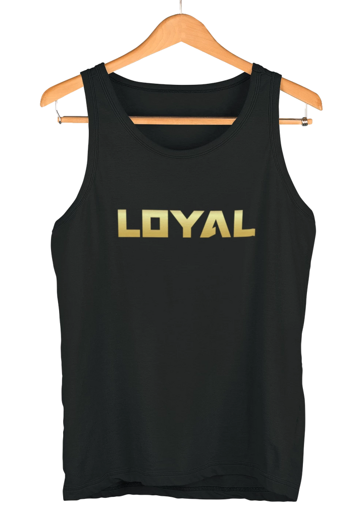 Loyal Logo Tank - Black 'n' Gold