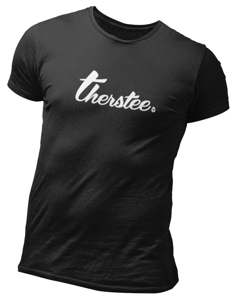 Therstee | White Logo Tee