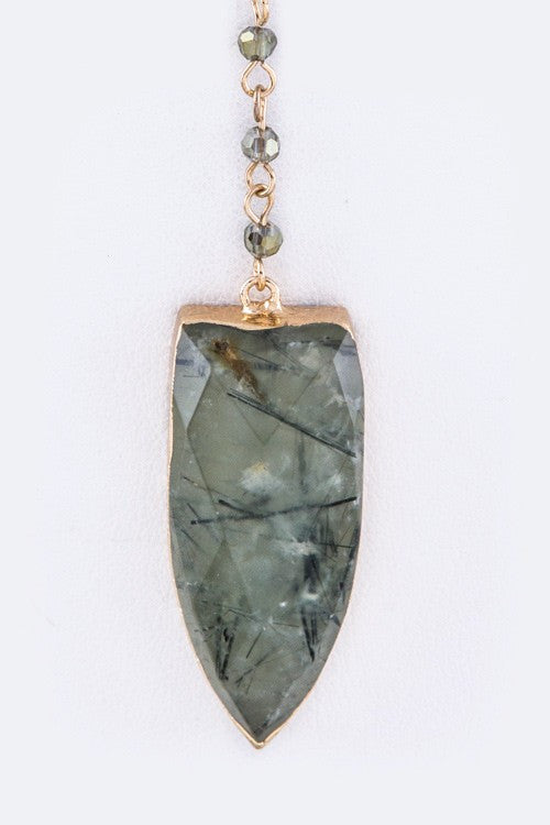 Beyond The Stone Necklace - Snatched