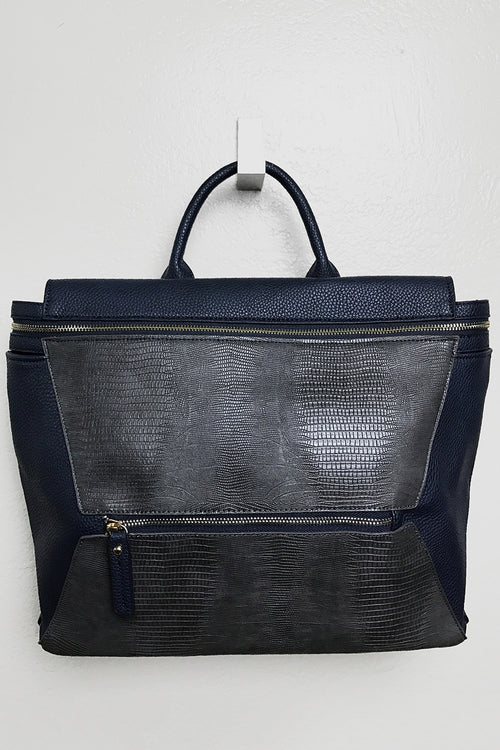 Weekday Navy Satchel