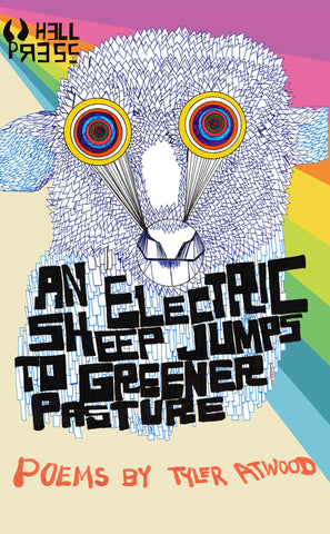 an electric sheep jumps to greener pasture by Tyler Atwood